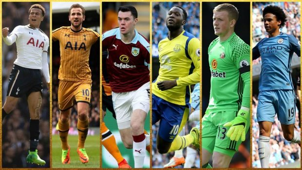 PFA Young Player of the Year shortlist 2017