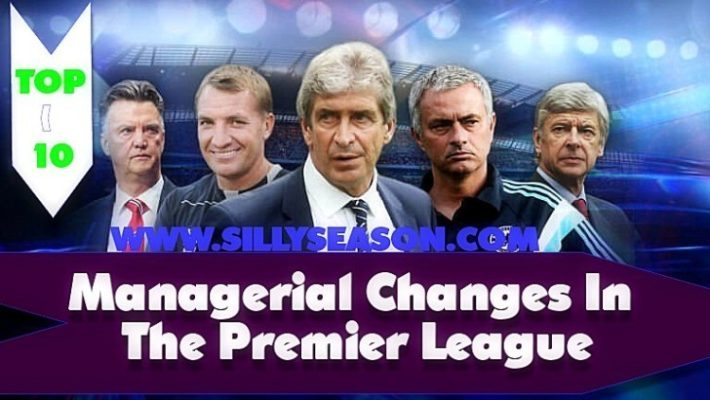 Top 10 Managerial Changes In The Premier League 2015