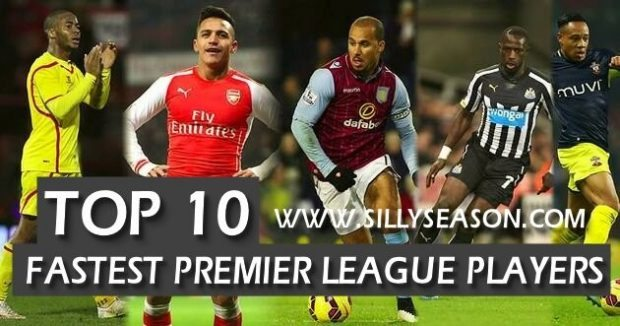 Top 10 Fastest Football Players In The Premier League