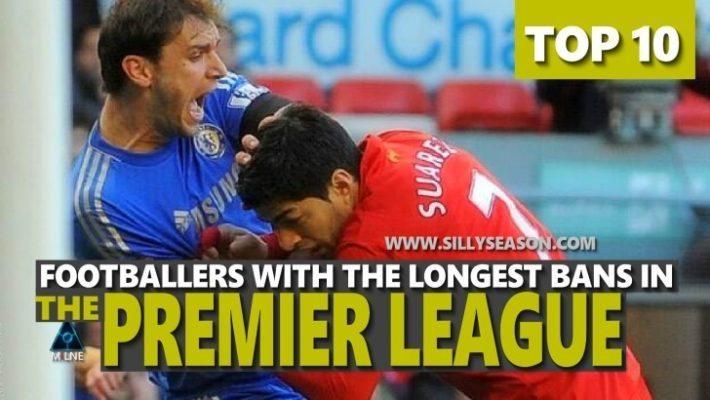 Longest Bans in The Premier League