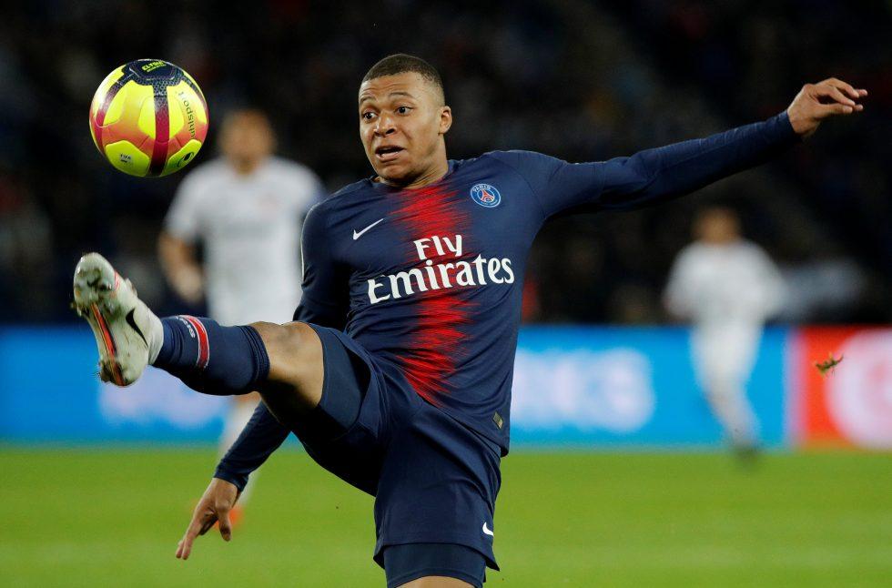 Kylian Mbappe Champions League top five assist makers
