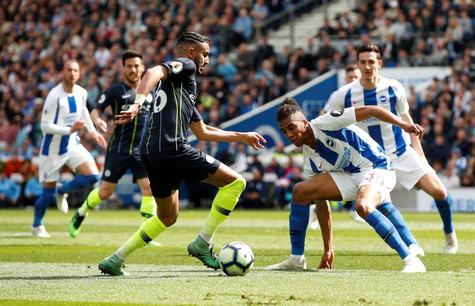 Mahrez Champions League top five assist makers