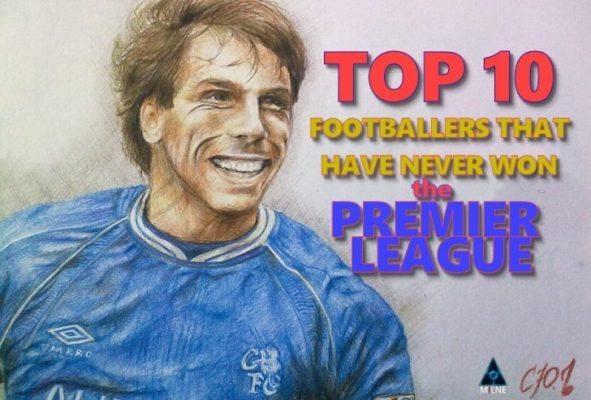 Top 10 Footballers That Have Never Won The Premier League!