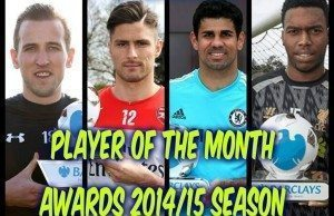 Player of the Month Awards