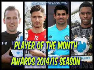 Premier League Player of The Month Awards 14/15 Season