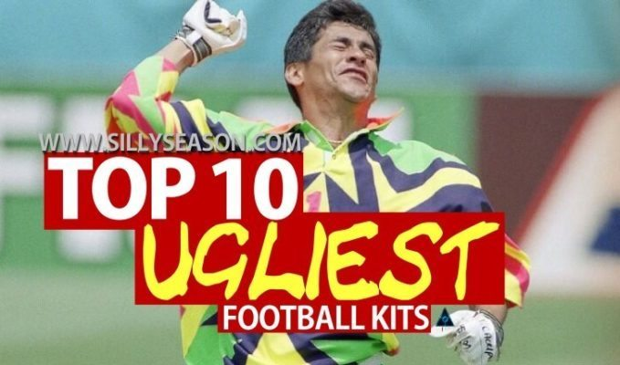Worst football kits ever