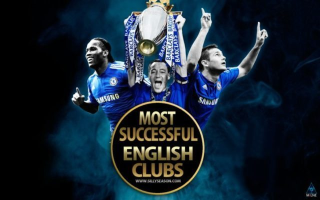 Top-10 Most Successful English Clubs