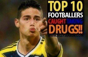 Top 10 Footballers Caught Taking Drugs