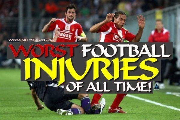 American football injuries top 10