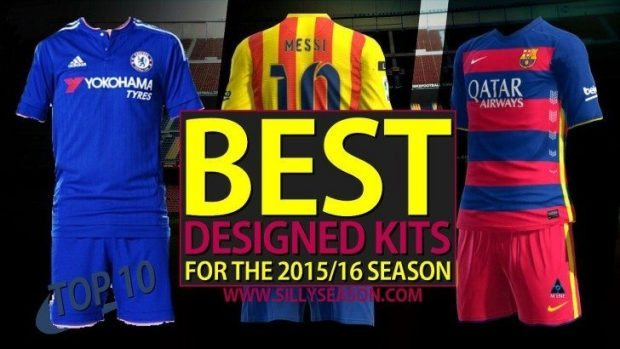 Top 10 Best Designed Kits In Football for the 2015 16 Season 6f6ed34d3
