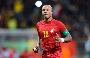 150331 Fotboll, Landskamp, Ghana - Mali: Andre Ayew  - 31.03.2015 - Ghana / Mali  - Match amical Photo : Andre Ferreira / Icon Sport © BildbyrŒn - COP 75 - SWEDEN ONLY