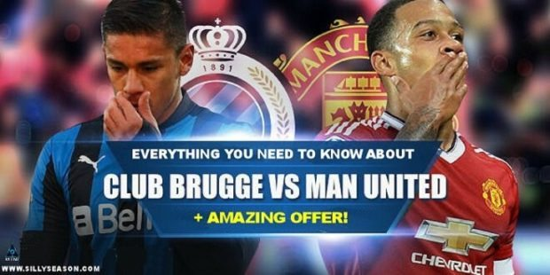 Everything You Need To Know About Club Brugge vs Manchester United kick-off