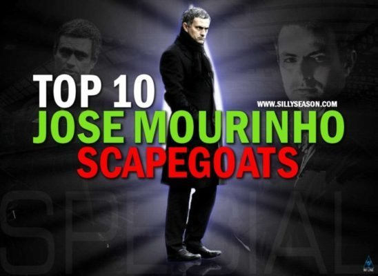 Top-10 Jose Mourinho Scapegoats