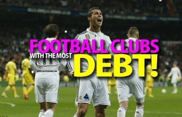 Top 10 Football Clubs with the Most Debt