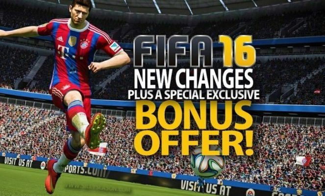 EA Sports Announces Changes To FIFA 16! + A Very Very Special Offer!