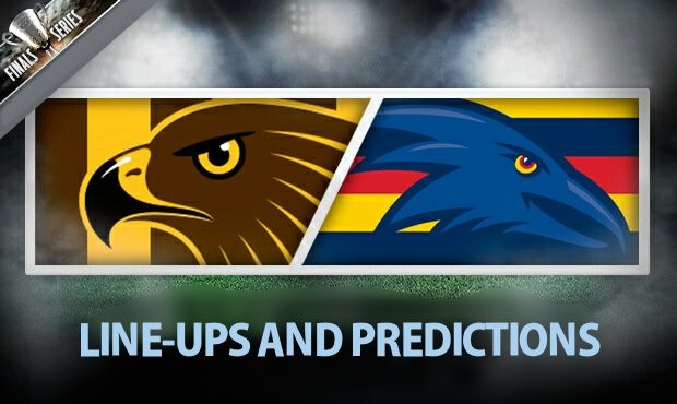 Hawthorn v Adelaide Line-Ups and Predictions