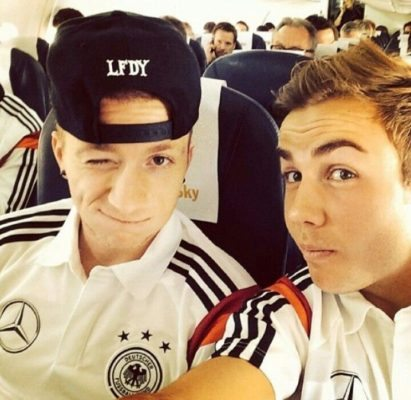 Reus and Gotze are one of the Top 10 Best Friends in Football