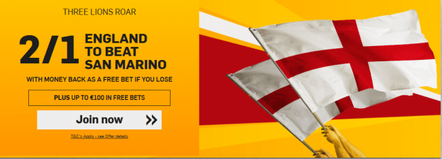 San Marino vs England