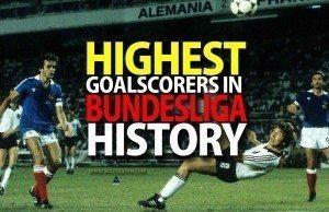 Top 10 Goalscorers in Bundesliga History