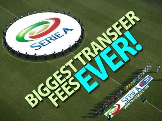 Top 10 Biggest Transfer Fees in Serie A History