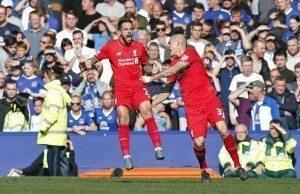 Fotboll, Premier League, Everton - Liverpool