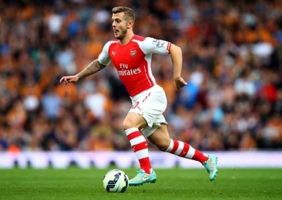 Jack Wilshere is one of the Top 10 Best Left Footed Footballers