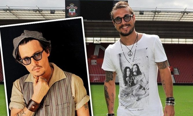 Johnny Depp is one of the Top 10 Footballers Look Alikes