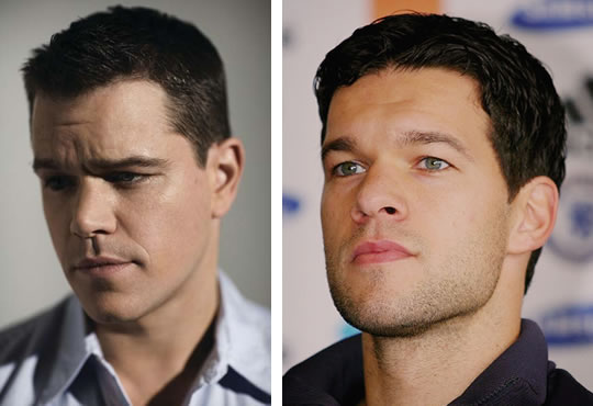 Matt Damon is one of the Top 10 Footballers Look Alikes