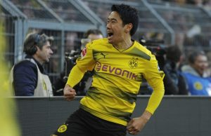 Shinji kagawa is one of the Asian footballers playing For Famous European clubs