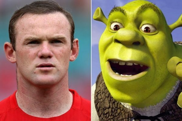 shrek is the best footballer look alikes