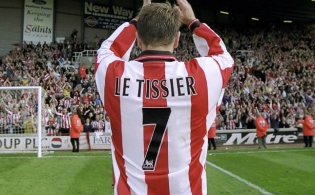 Matt Le Tissier is one of the Top 10 One Man Teams in Football History