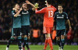 Fotboll, Premier League, West Ham United - Chelsea