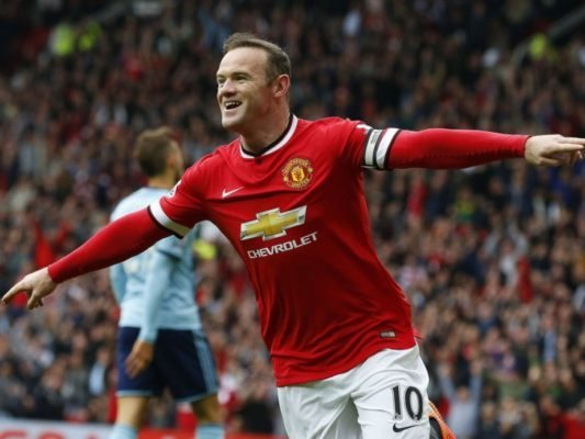 Wayne Rooney is one of the Top 10 Greatest Players in Premier League History