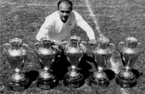 alfredo di stefano is one of the Top 10 Goal Scorers in Champions League History