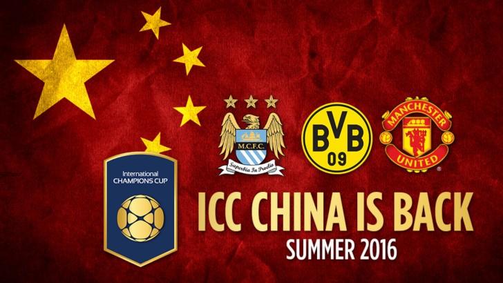 2016 International Champions Cup Fixtures, Teams (Confirmed)