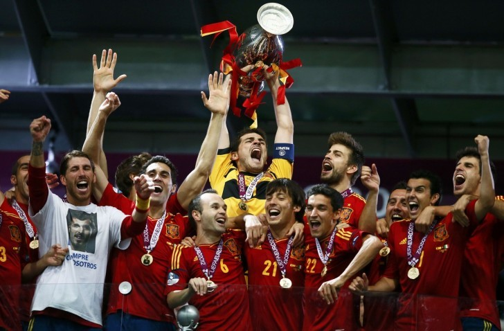 Spain part of the Past Winners of UEFA Euro Championships