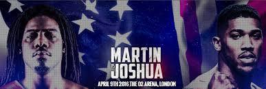 Joshua v Martin live stream