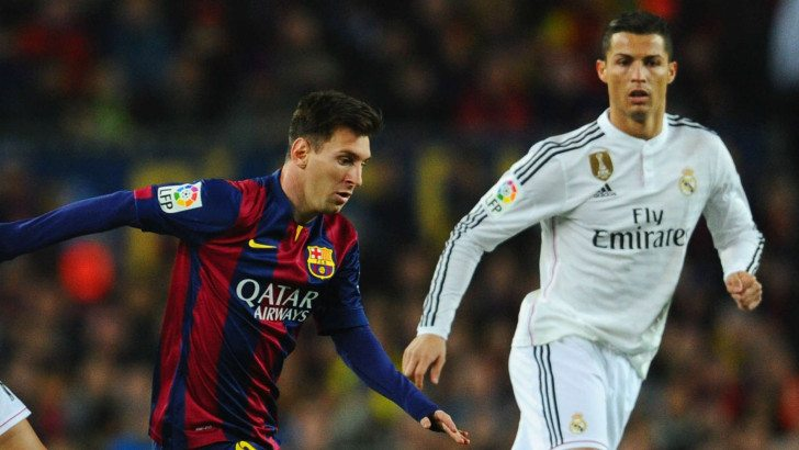 "Cristiano Ronald and Lionel Messi one of the All Time Top Goal Scorers In ""El Clásico"" History"