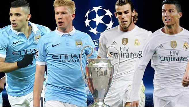 Manchester City vs Real Madrid live stream free online - UCL semifinal 2016