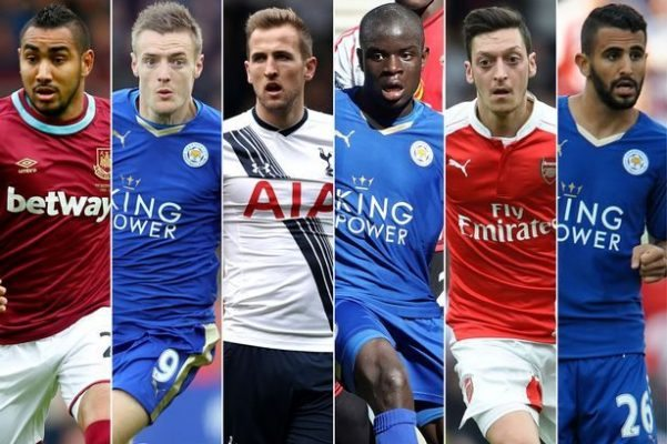 2016 PFA Player of the year Award Nominees