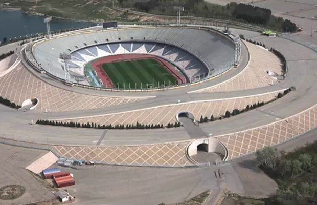 Biggest Stadiums in Asia
