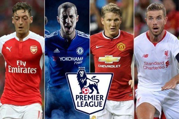 Premier League clubs shirt sponsorship deals 2015-16