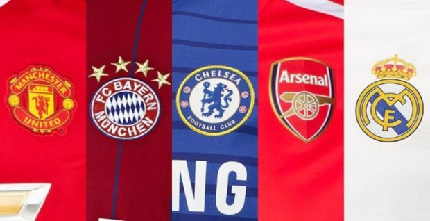 Football's 10 Most Expensive Kit Suppliers Deals