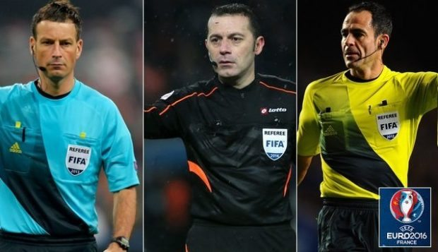 UEFA Announce List of Referees for Euro 2016