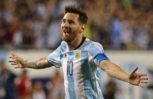 Lionel Messi is one of the 2016 Copa America Best XI