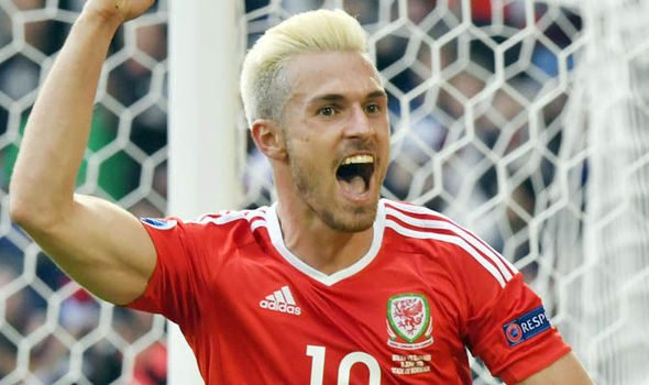 Aaron Ramsey is part of the Euro 2016 Team of The Tournament
