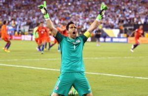 Claudio Bravo is one of the 2016 Copa America Best XI