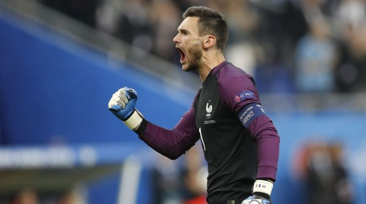 Hugo-Lloris is the goalkeeper in the Euro 2016 Team of The Tournament