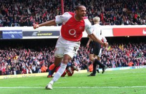 Henry is one of the Top 10 Arsenal All Time Top goalscorers