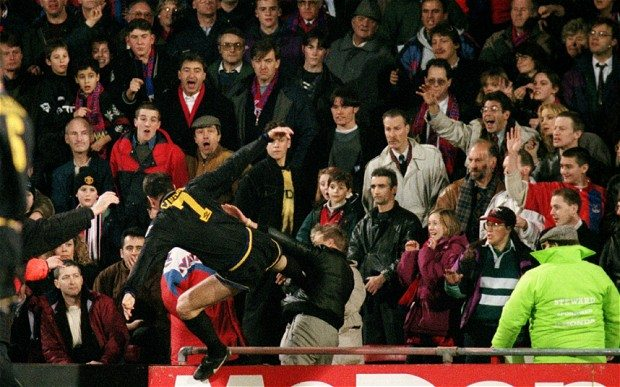 Stunning Premier League moments cantona kick